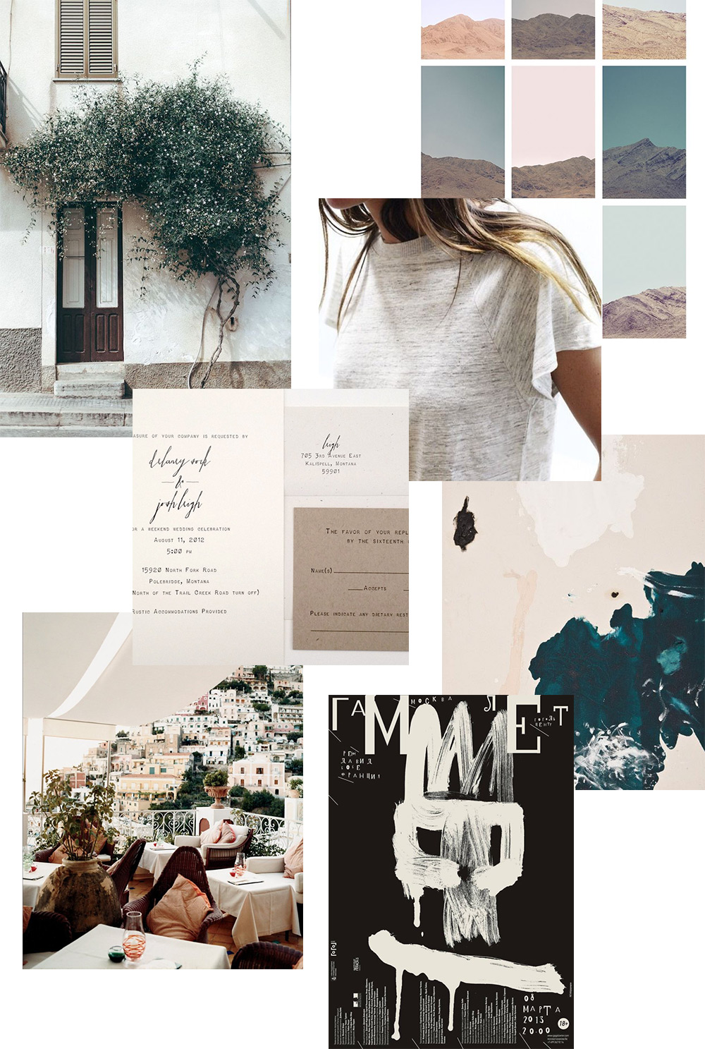 Spring Moodboard // Evermore Paper Co.