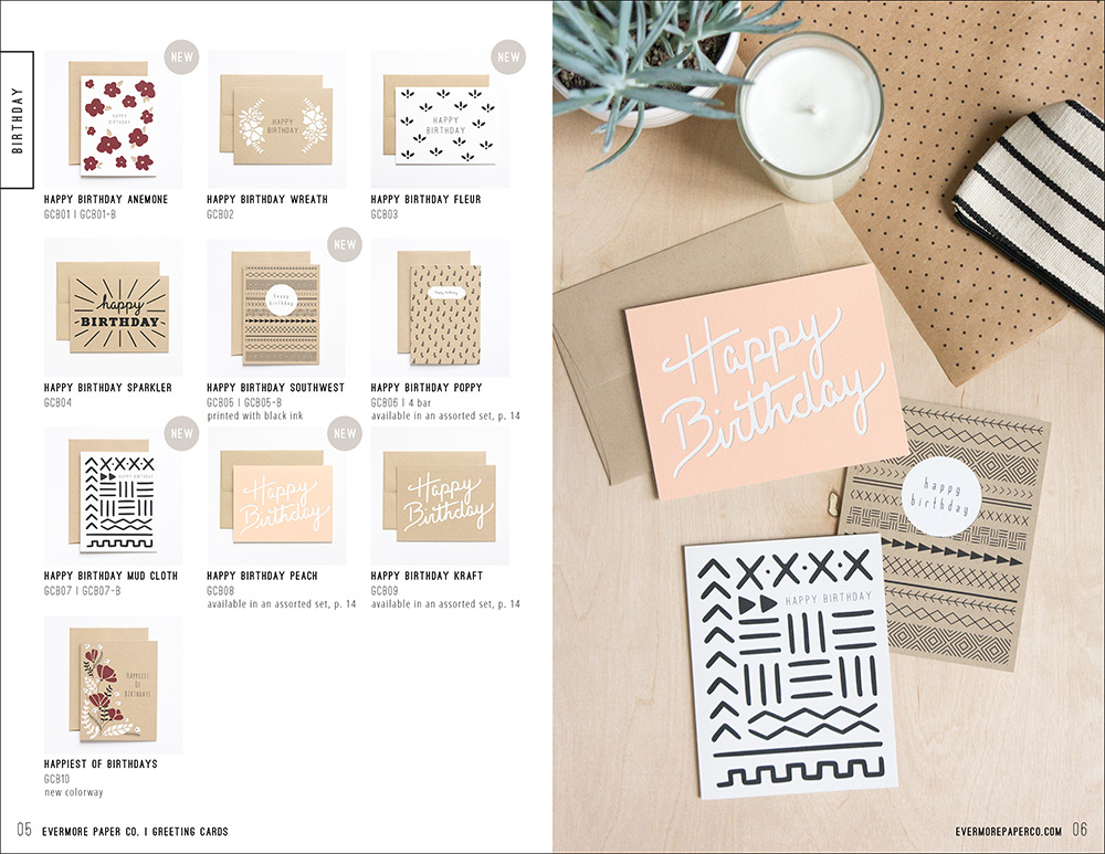 Evermore Paper Co. 2015 Catalog Preview