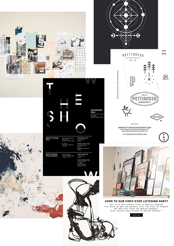 Evermore Paper Co. Brand Moodboard