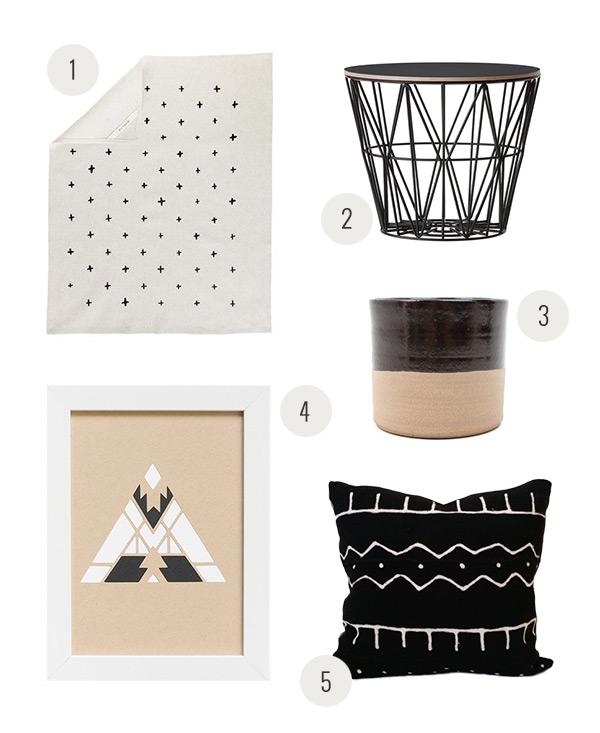 Monochromatic Home | Evermore Paper Co.