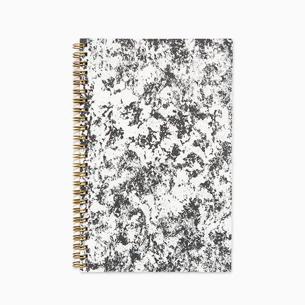 Black & white planner via Evermore Paper Co.