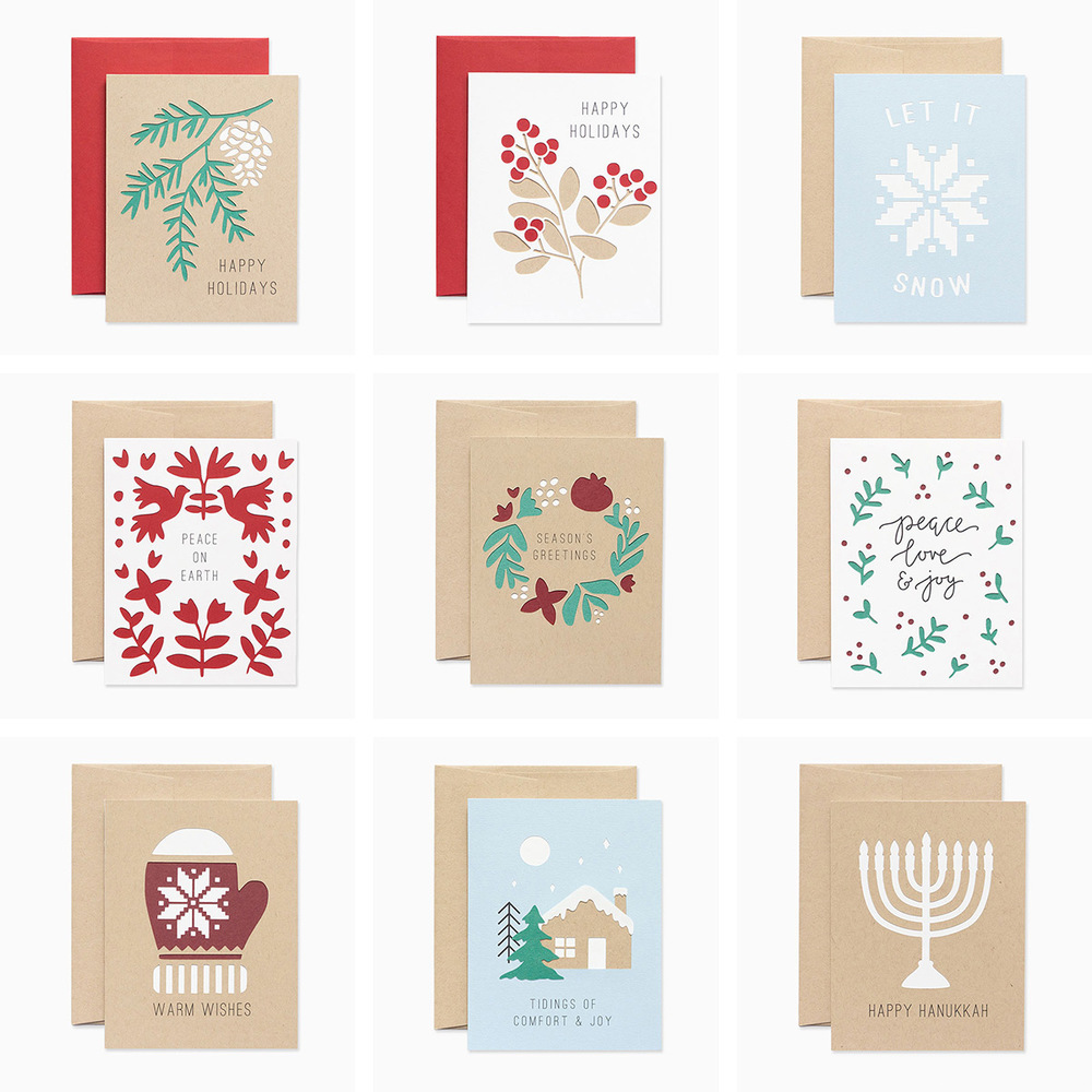 Holiday Collection via Evermore Paper Co.