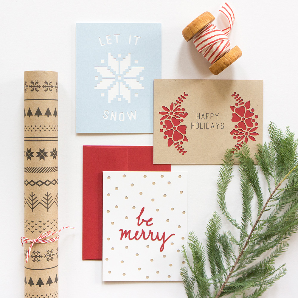Holiday Greeting Cards from Evermore Paper Co.