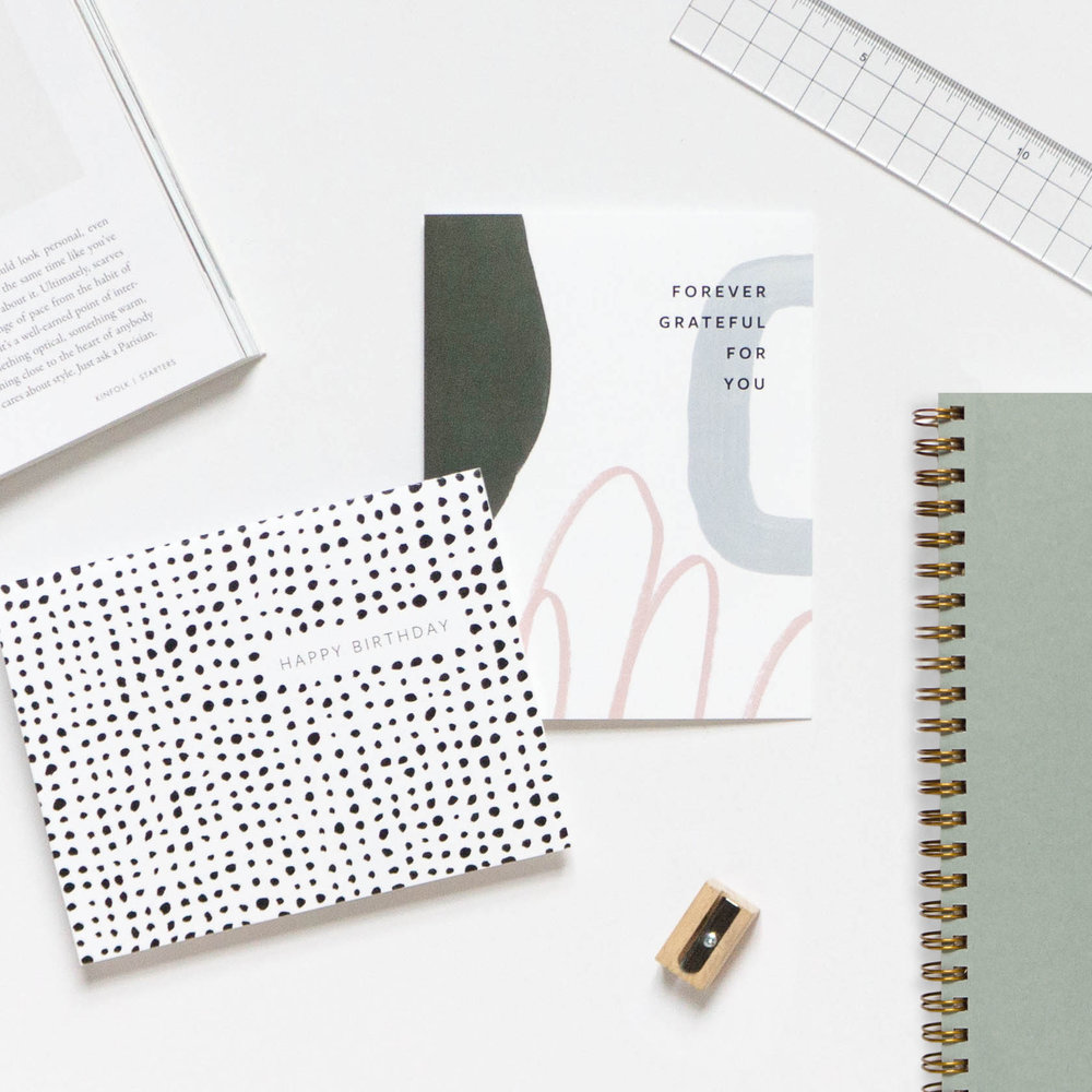 Minimal Paper Goods for the Modern Correspondent | Evermore Paper Co.
