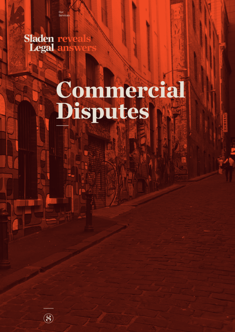 For more information download a copy of our Commercial Disputes Brochure -