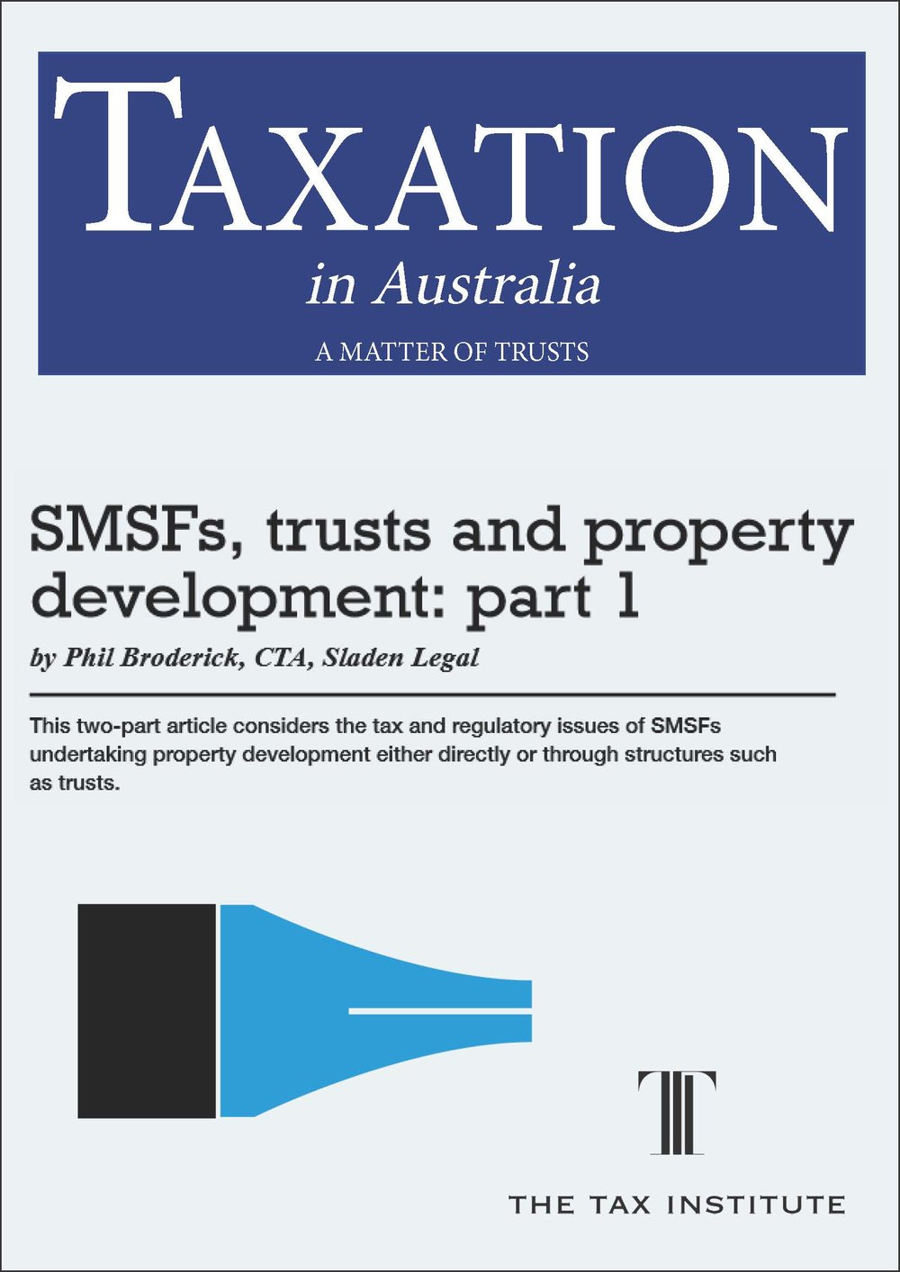 SMSFs, trusts and property development: part 1 04 March 2015