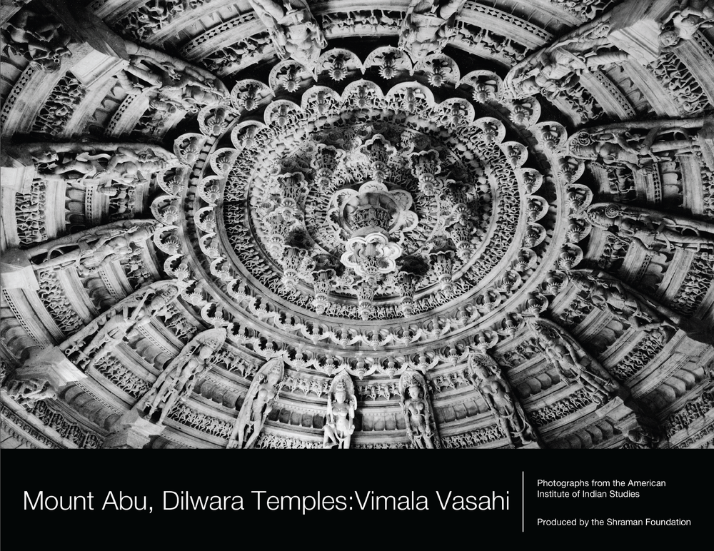 Vimala Vasahi (ca. 1031-1032 CE) is the oldest temple in a group of Jain temples on Mount Abu in the northwest Indian state of Rajasthan. Like the other temples in the Dilwara compound, the Vimala Vasahi temple is celebrated for the marble sculpture that covers the interior. This photo book explores the astounding beauty of this structure.