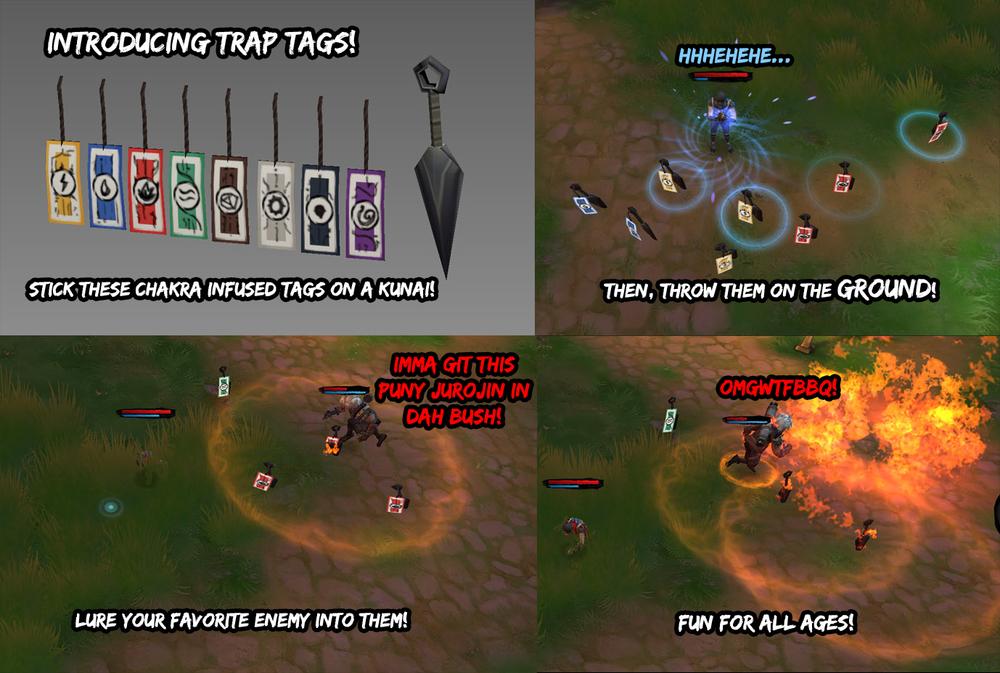 Jurojin Trap Tags