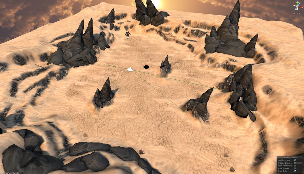 Jurojin Desert Environment