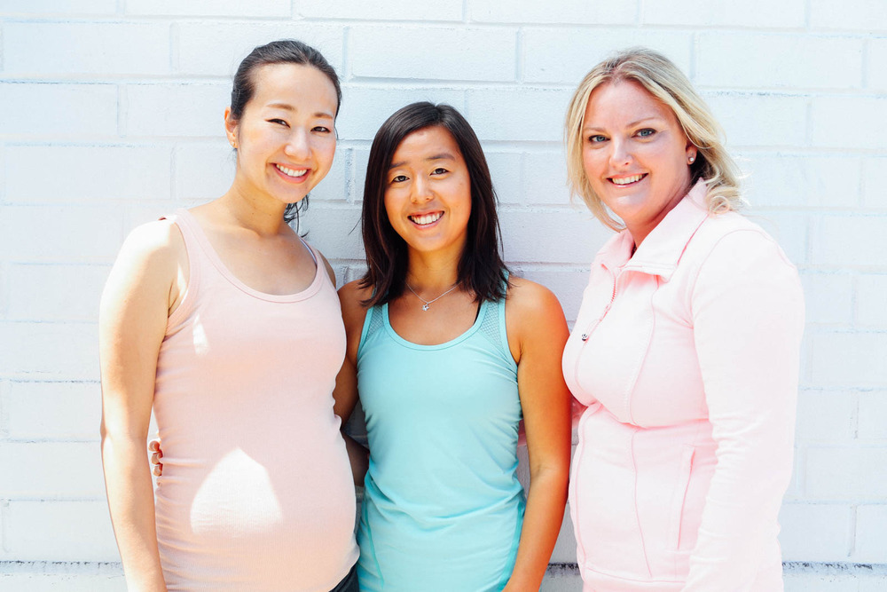 Meet the Mint Pilates Apprentices: Kanako, Mikaela, and Sarah.