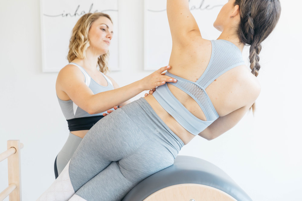 3 Private Pilates Sessions$195 -