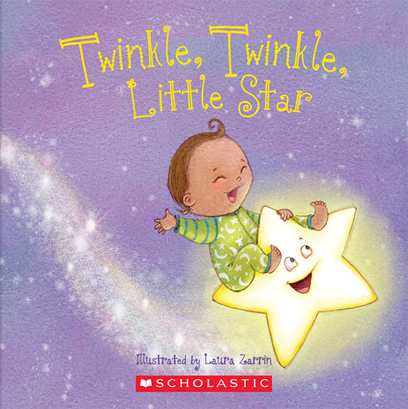 Cuddle Time Nursery Rhymes: Twinkle, Twinkle, Little Star    Anna W. Bardaus (Author)  Laura Zarrin (Illustrator)