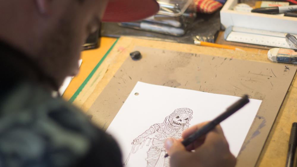 Taller   Ilustración y Caricatura   Por Ricardo Moste aka Silomi