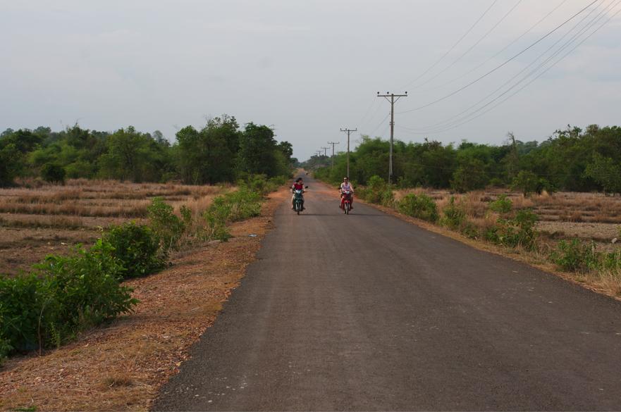 Laos Motorbike