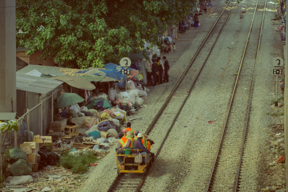 Life along the train line