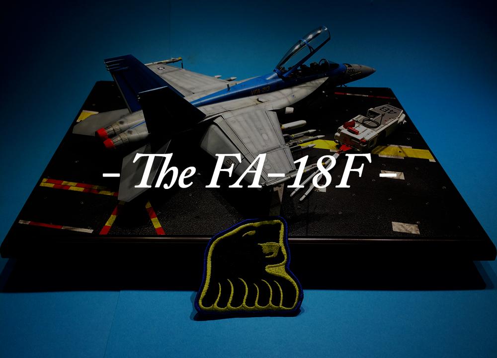The FA-18F