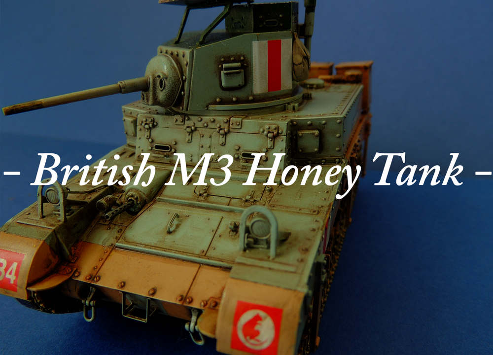 British M3 Honey Tank