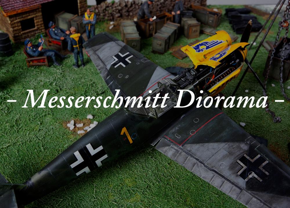 Messerschmitt Diorama