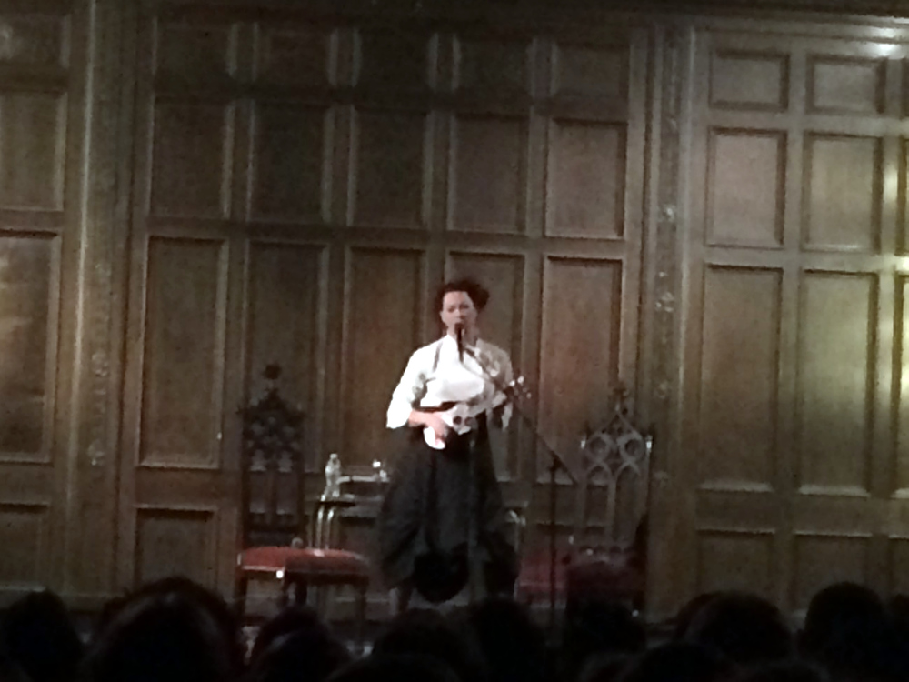 Amanda Palmer And The Art Of Asking Philadelphia 2014 Tour Stop