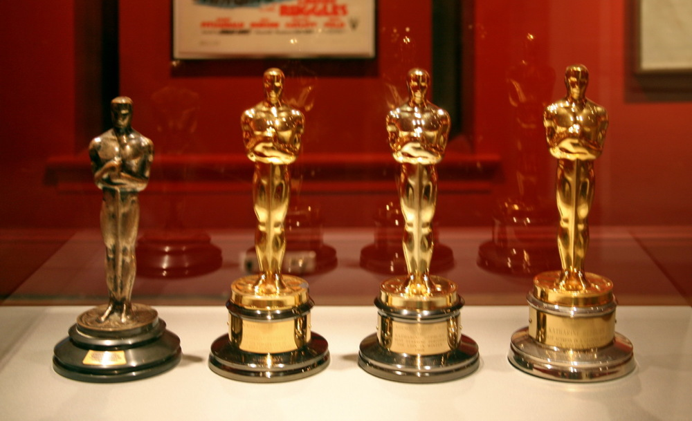 Katharine Hepburn's four Best Actress Academy Awards by Cliff on Flickr