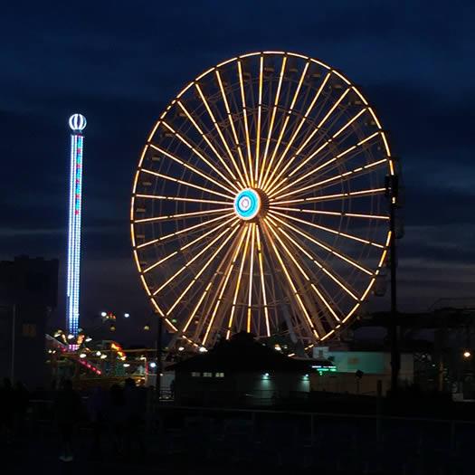 Ocean City, NJ ferris wheel