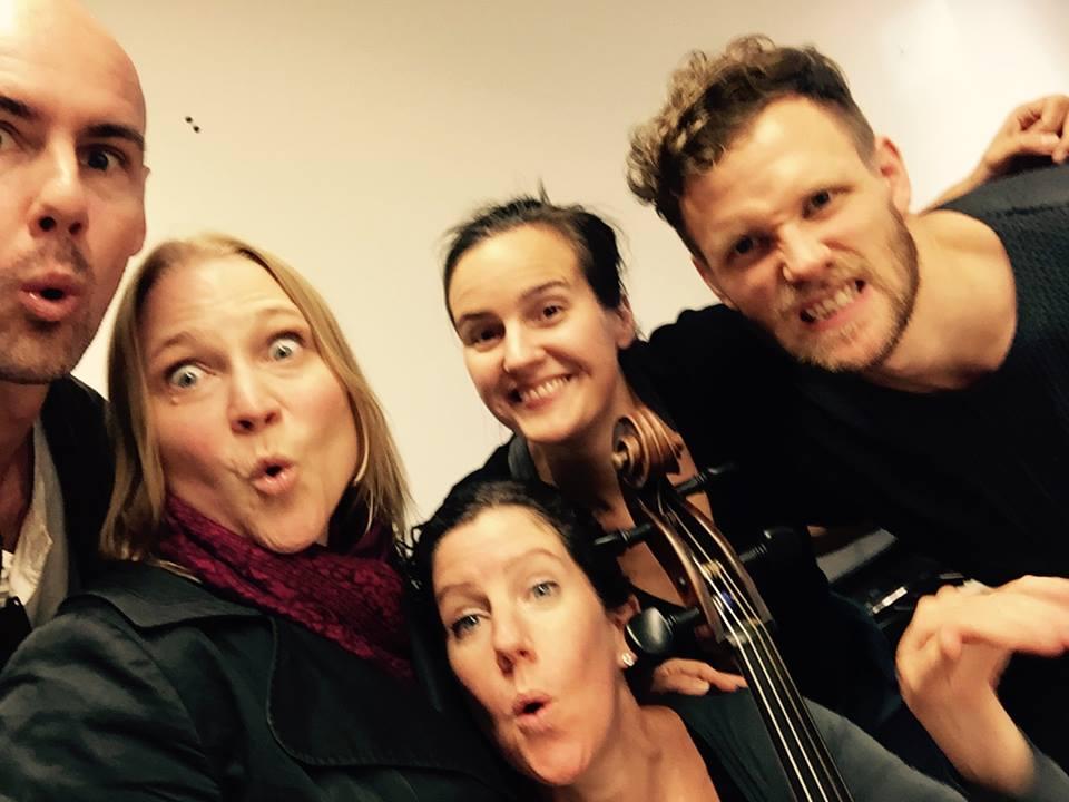 Ensemble ur Operabyråns föreställning Ingjutet i mitt hjärta (2016)