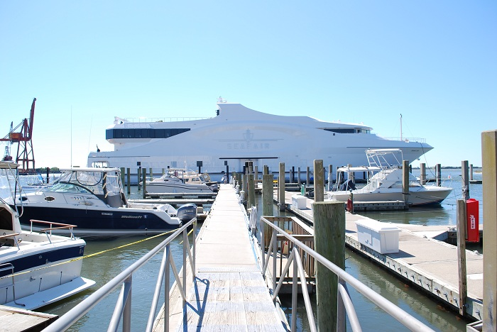 SeaFair docked in Morehead City, NC.