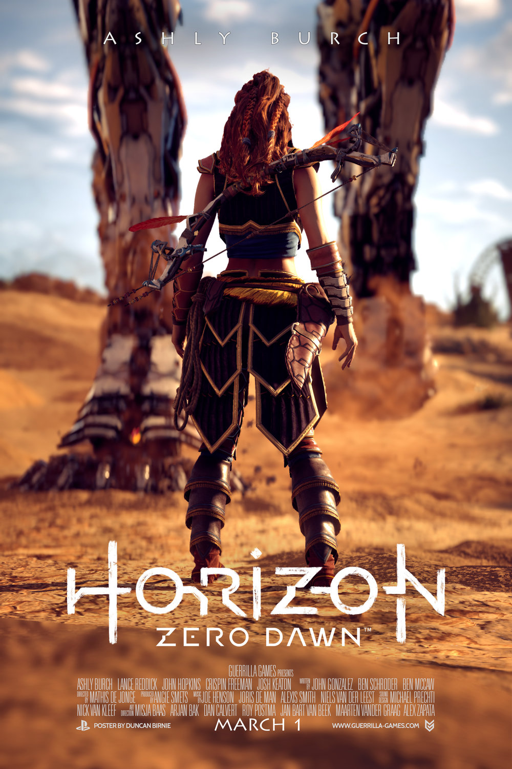 Horizon Zero Dawn Movie Poster 5 3x2.jpg