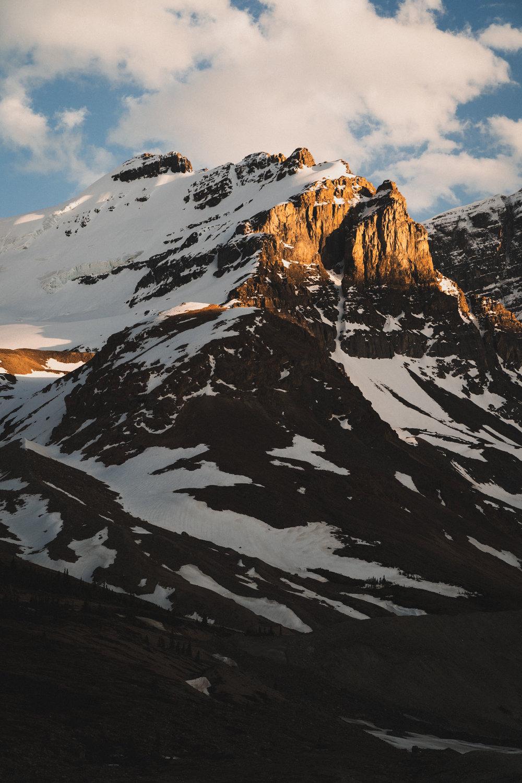 Mountain at Athabasca