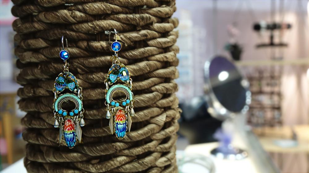 Soft Breeze Sakura Earrings by Ayala Bar