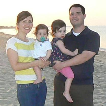 Ryan Schecter and family, Owner of Safe Nest Babyproofing Atlanta, Georgia