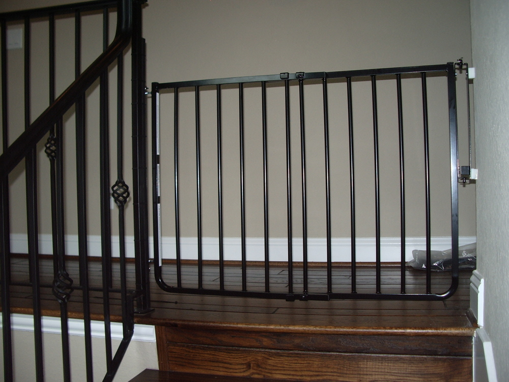 Safety gates that match your home's decor