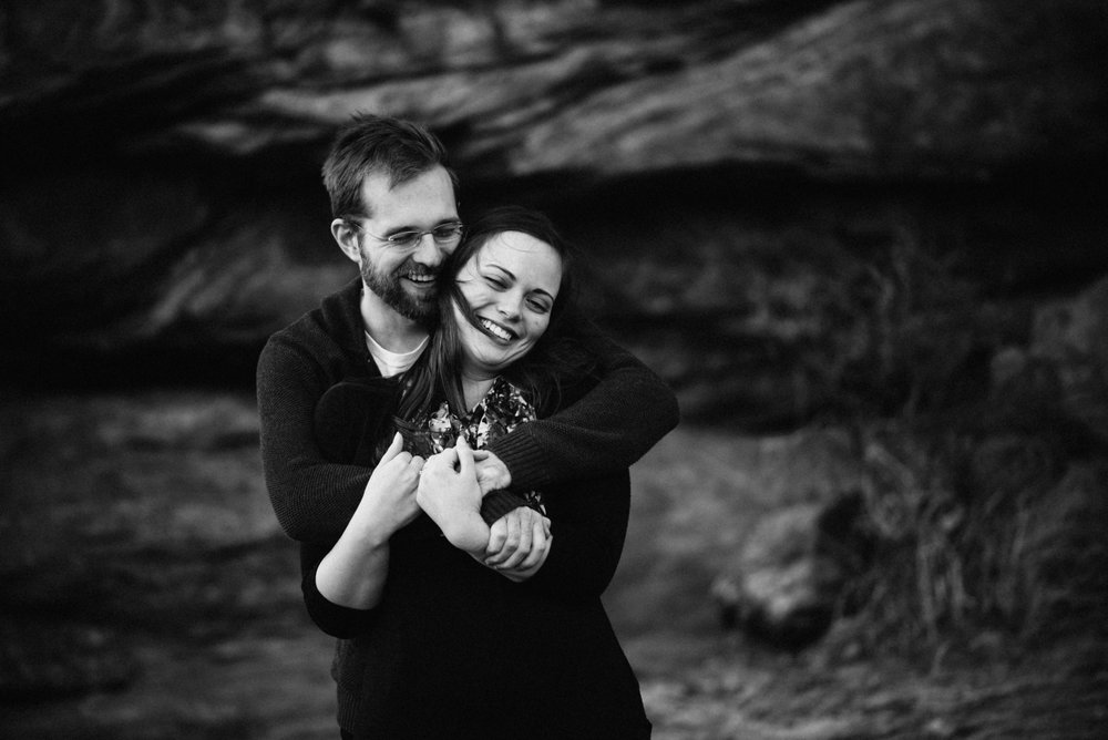 April and Jordan wanted to take their engagement pictures in Estes Park. We met in town and drove to Mary's Lake in Estes Park for some couples portraits.
