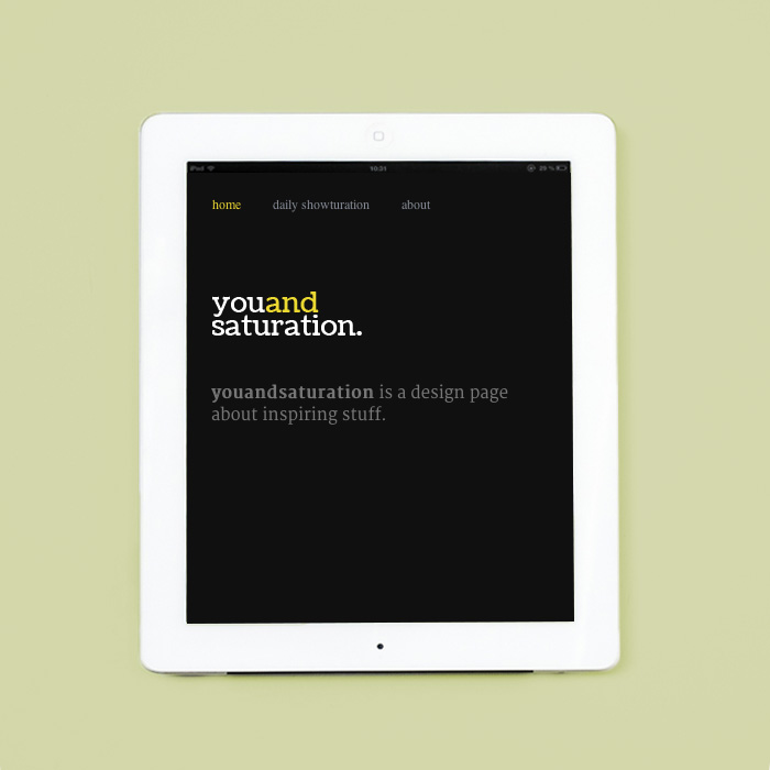 ONOGRIT Designstudio — You and Saturation.jpg