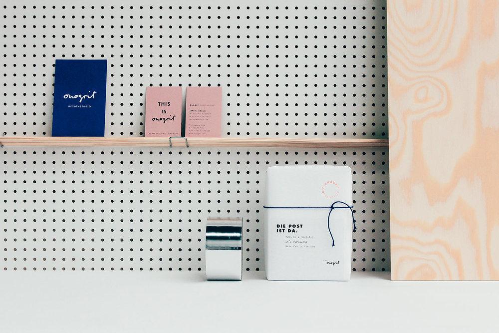 Work – ONOGRIT Corporate Identity