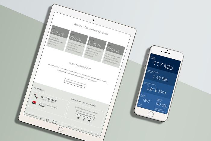 Employer Branding - Career Website for Santander Bank | ONOGRIT