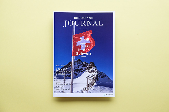Customer Magazine for Bonusland