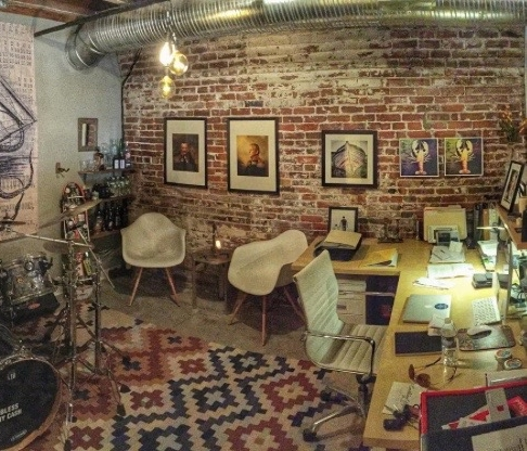 One of our full 10' x 12' office spaces.