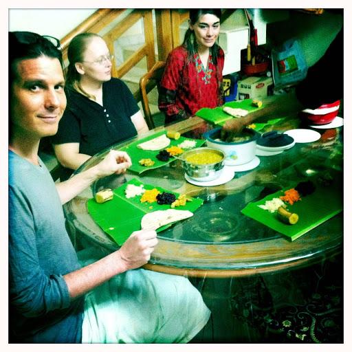 Keralana thali meal