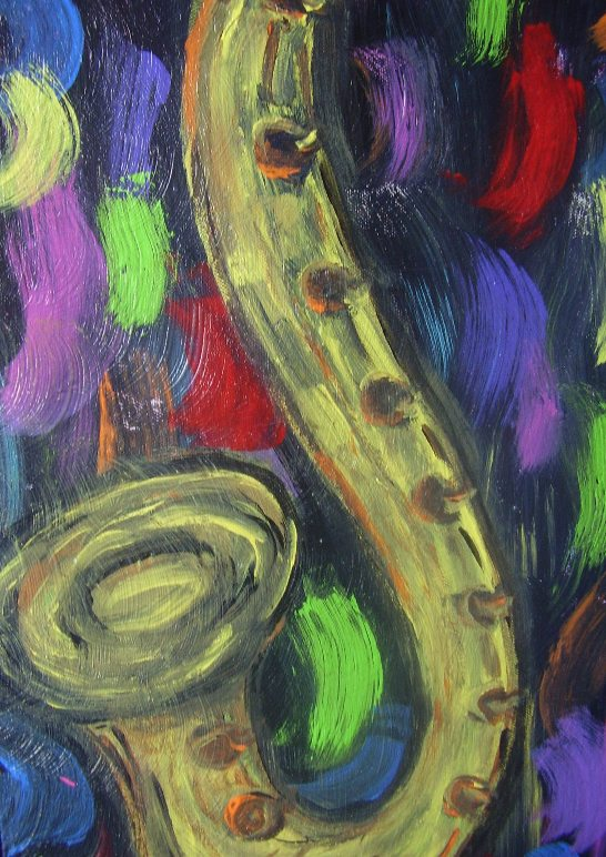"Musax   Acrylic  9.5"" x 23.5""   $250.00  Available"