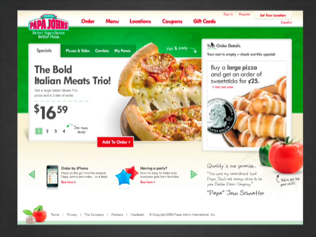 Papa Johns Bid-Winning Pitch Video (0:44)