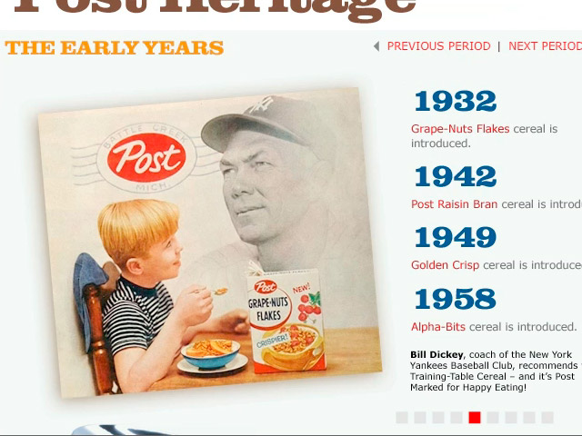 Post Cereal Heritage Microsite (0:20)