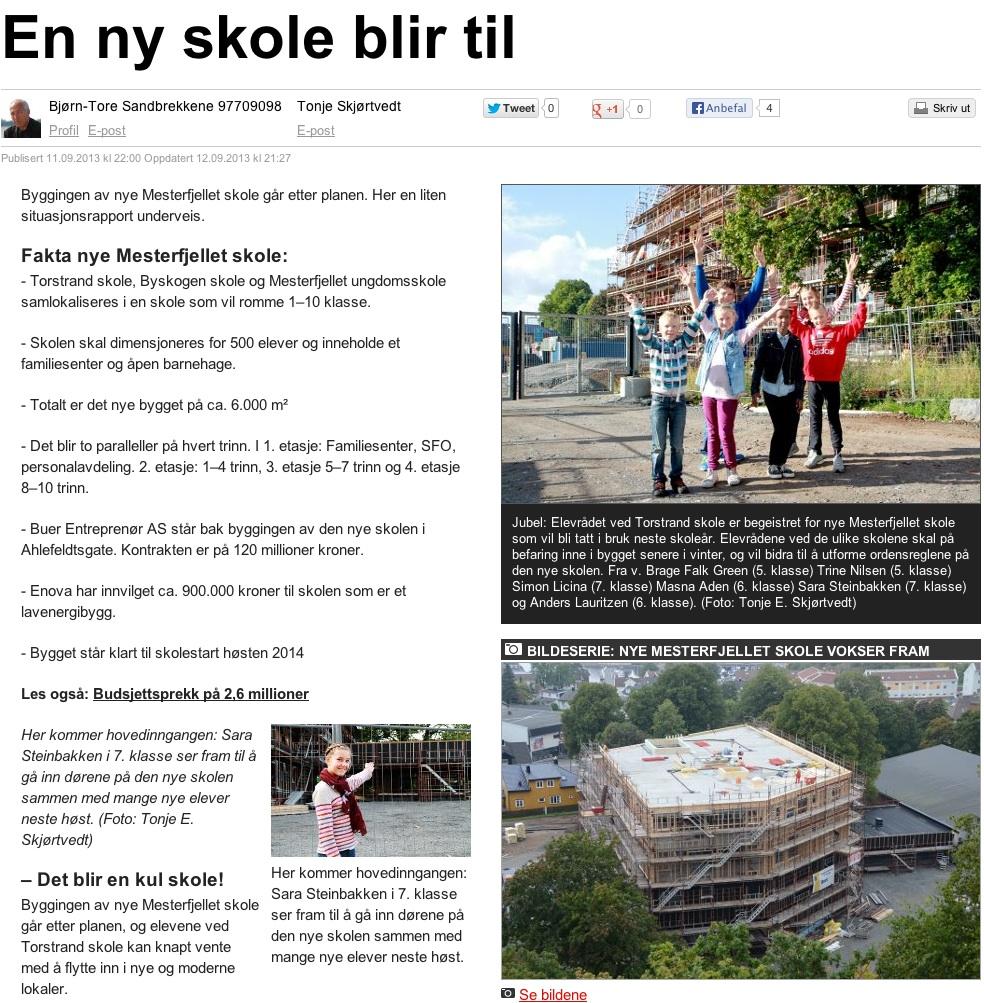 Østlandsposten 12.09.13
