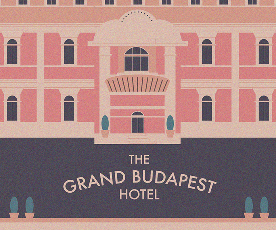 Wes Anderson Film Posters