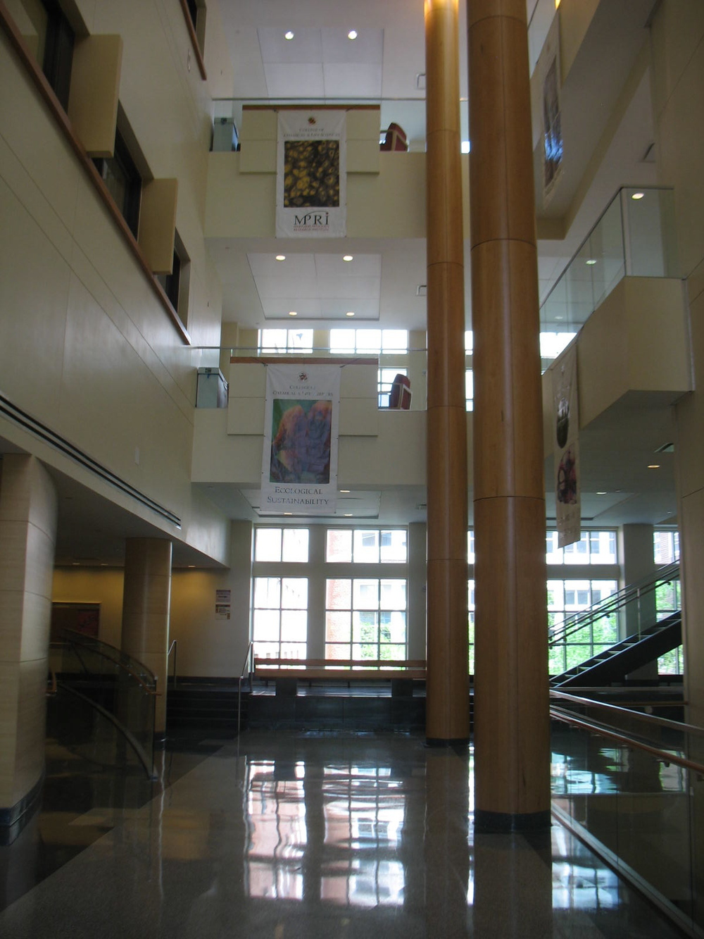 As you enter the Bioscience Research Building and walk through the light-infused atrium, you can plan the day's experiments.