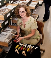 Helen F. James , Curator in Charge, Vertebrate Zoology, National Museum of Natural History, Smithsonian Institution.  Avian morphology; avian phylogeny; island paleoecology; extinction; biological conservation.