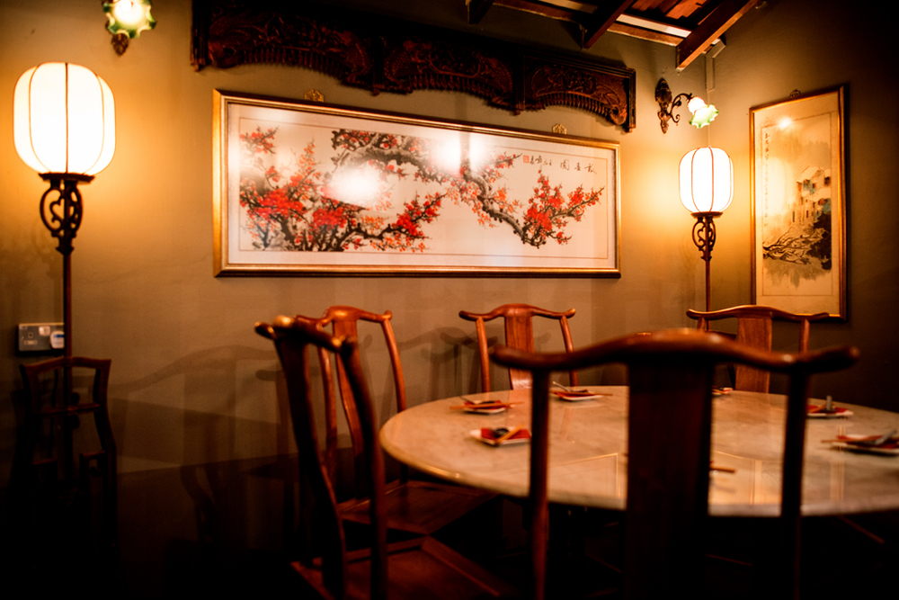 酒庄 Jiu Zhuang Private Corner with Round Table