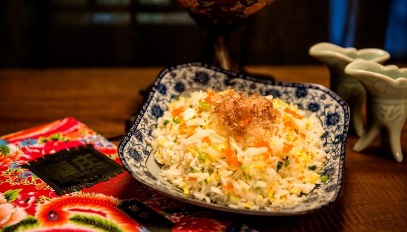 Egg Fried Rice with Crab Meat
