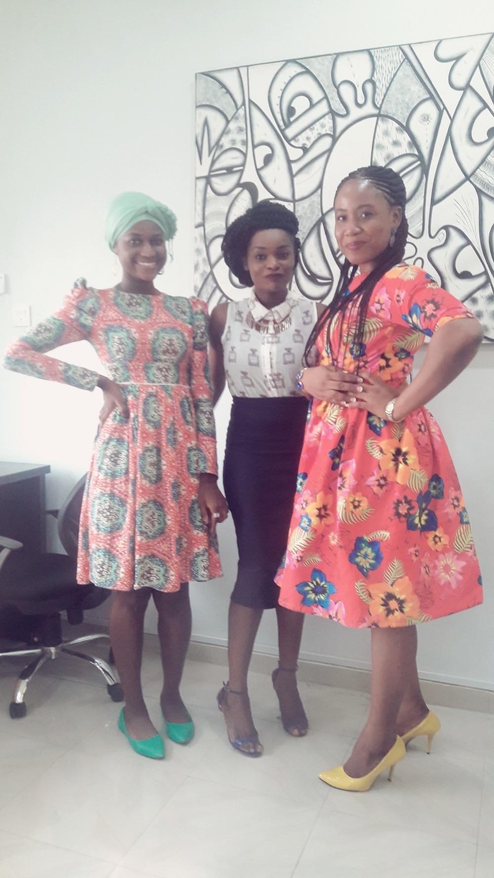 The CapitalSquare Ladies!