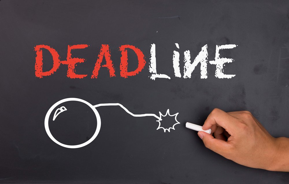 the importance of deadlines in the Deadlines matter here's why: i don't care if you don't think the deadline is important – it's important to the client do whatever it takes.